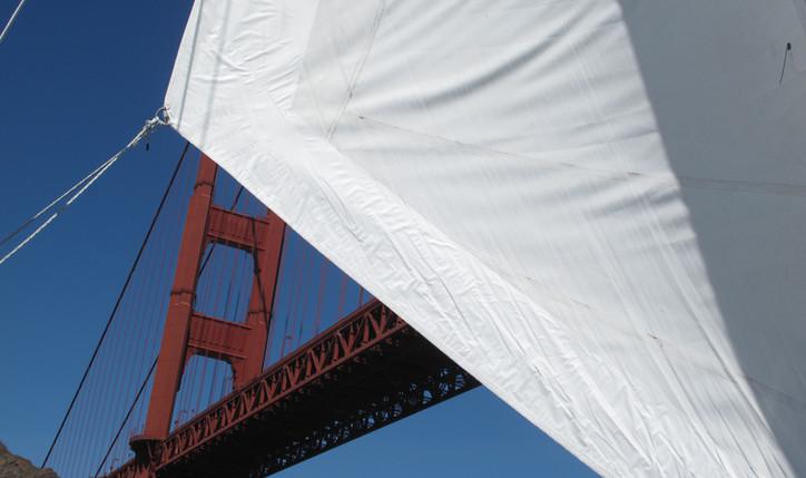 Sail under the Golden Gate Bridge!