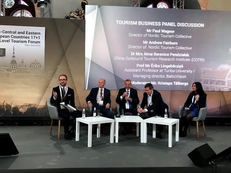 The CEEC 17+1 high-level tourism forum, Riga