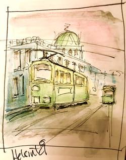 helsinki sketch