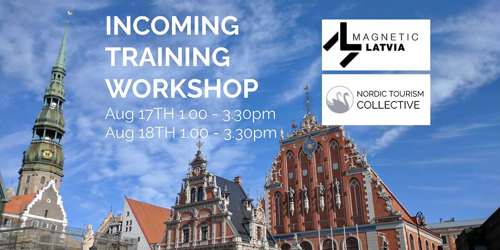 LATVIA Incoming Training pre-registration