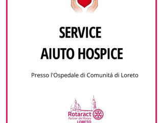 Progetto di servizio: aiuto Hospice