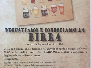 CORSO DEGUSTAZIONE BIRRA PER SERVICE RF