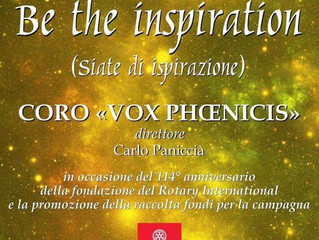 """CONCERTO """"BE THE INSPIRATION"""""""