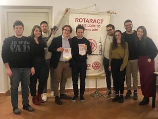 """Rotaract Loreto """"Imprendere: le chiavi per il tuo business"""" - Secondo appuntamento"""