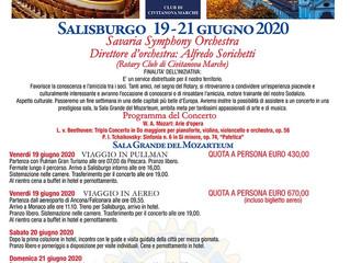 SAVE THE DATE SALISBURGO 19-21 GIUGNO: IL ROTARY E LA MUSICA