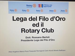 LA LEGA DEL FILO D'ORO E IL ROTARY