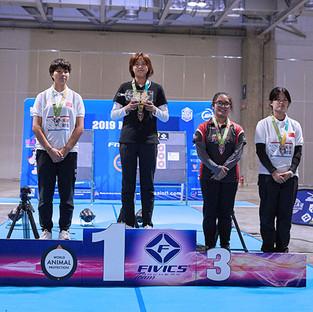 Macau Indoor Archery Open 2019 D4 342ky.
