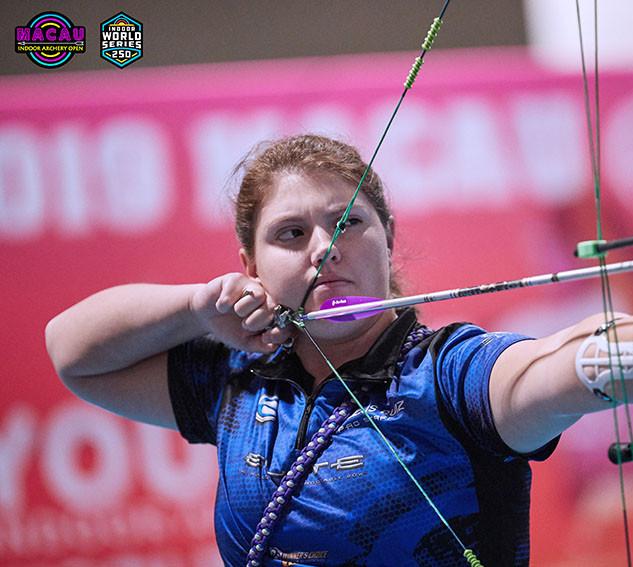 Macau Indoor Archery Open 2019 D4 395ky.