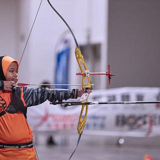 Macau Indoor Archery Open 2019 D3 220ky.