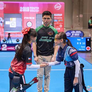 Macau Indoor Archery Open 2019 D3 540ky.