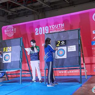 Macau Indoor Archery Open 2019 D3 522ky.