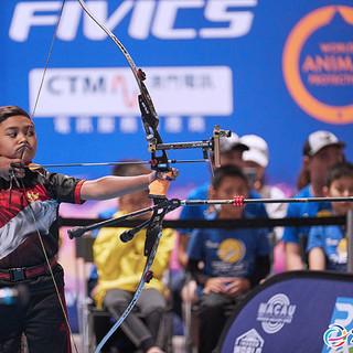 Macau Indoor Archery Open 2019 D3 575ky.