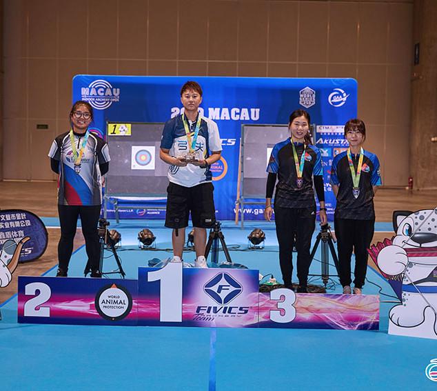 Macau Indoor Archery Open 2019 D2E 398ky