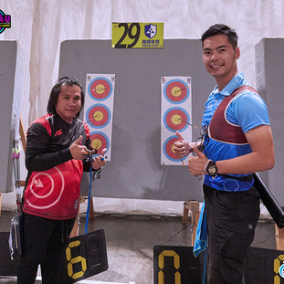 Macau Indoor Archery Open 2019 D1E 191ky