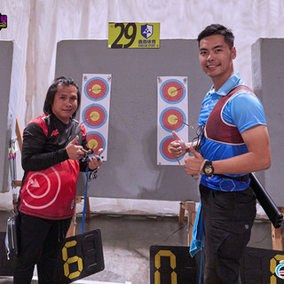 Macau Indoor Archery Open 2019 D1E 191ky