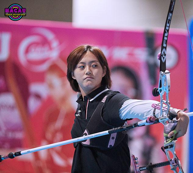 Macau Indoor Archery Open 2019 D4 248ky.