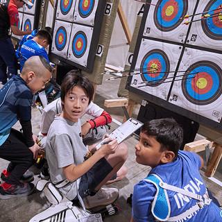 Macau Indoor Archery Open 2019 D3 130ky.