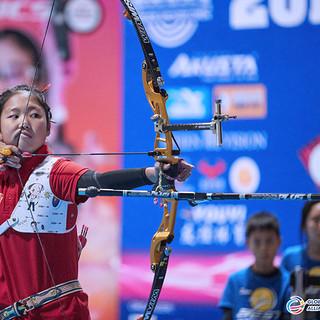Macau Indoor Archery Open 2019 D3 491ky.