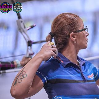 Macau Indoor Archery Open 2019 D3 285ky.