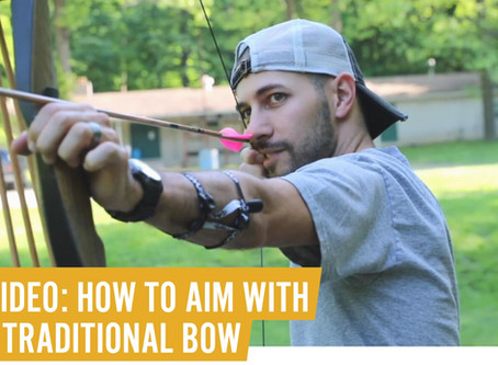 VIDEO: HOW TO AIM WITH A TRADITIONAL BOW