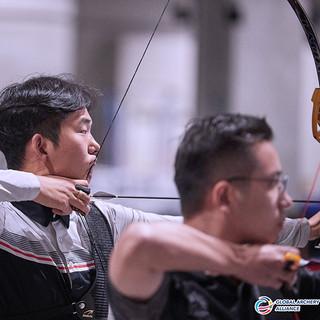 Macau Indoor Archery Open 2019 D3 154ky.