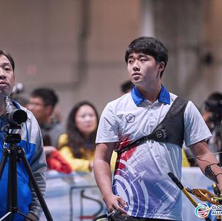 Macau Indoor Archery Open 2019 D4 178ky.