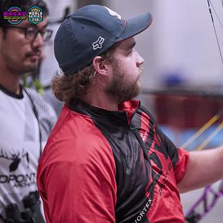 Macau Indoor Archery Open 2019 D3 433ky.