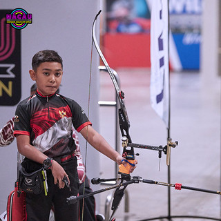 Macau Indoor Archery Open 2019 D3 456ky.