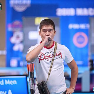 Macau Indoor Archery Open 2019 D4 437ky.