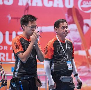 Macau Indoor Archery Open 2019 D4 319ky.