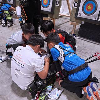 Macau Indoor Archery Open 2019 D3 129ky.