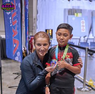 Macau Indoor Archery Open 2019 D3 612ky.