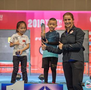 Macau Indoor Archery Open 2019 D3 597ky.