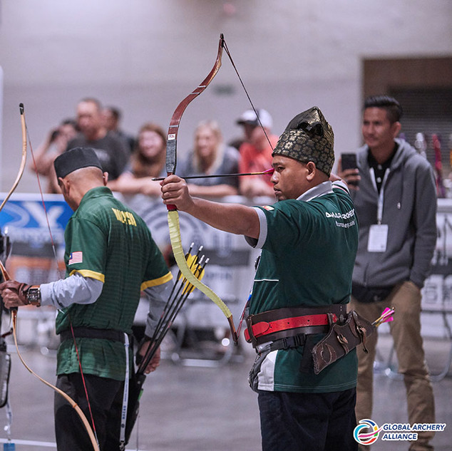 Macau Indoor Archery Open 2019 D1E 158ky