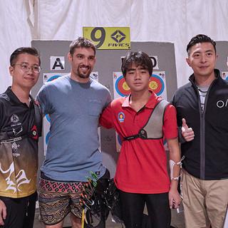Macau Indoor Archery Open 2019 D3 189ky.
