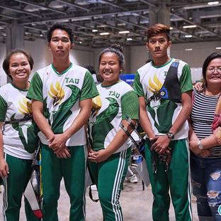 Macau Indoor Archery Open 2019 D1E 115ky