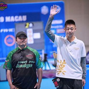 Macau Indoor Archery Open 2019 D4 299ky.