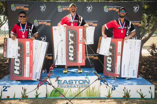 Team Hoyt Podium Sweep - Brady Ellison, Crispin Duenes and Matt Requa owned Gold, Silver and Bronze when it was all said and done.
