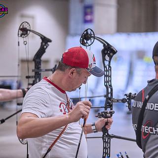 Macau Indoor Archery Open 2019 D3 296ky.