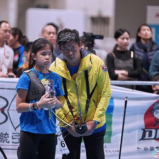 Macau Indoor Archery Open 2019 D3 493ky.