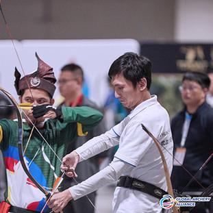 Macau Indoor Archery Open 2019 D1E 162ky
