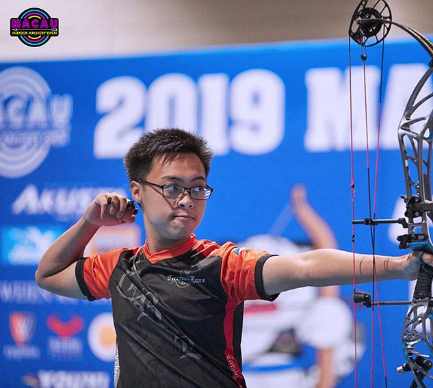 Macau Indoor Archery Open 2019 D4 317ky.