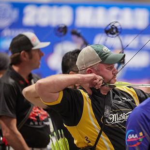 Macau Indoor Archery Open 2019 D3 348ky.