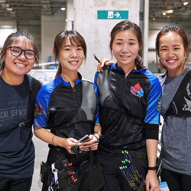 Macau Indoor Archery Open 2019 D1E 118ky