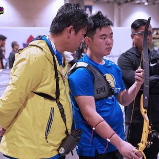 Macau Indoor Archery Open 2019 D1E 234ky