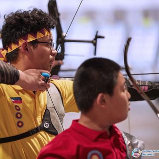 Macau Indoor Archery Open 2019 D3 380ky.