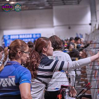 Macau Indoor Archery Open 2019 D3 312ky.