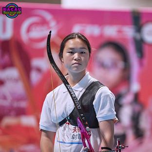 Macau Indoor Archery Open 2019 D4 137ky.