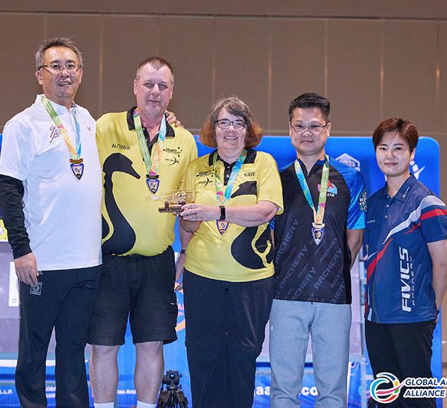 Macau Indoor Archery Open 2019 D2E 425ky