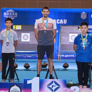 Macau Indoor Archery Open 2019 D2E 386ky